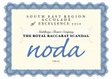 NODA accolade of excellence