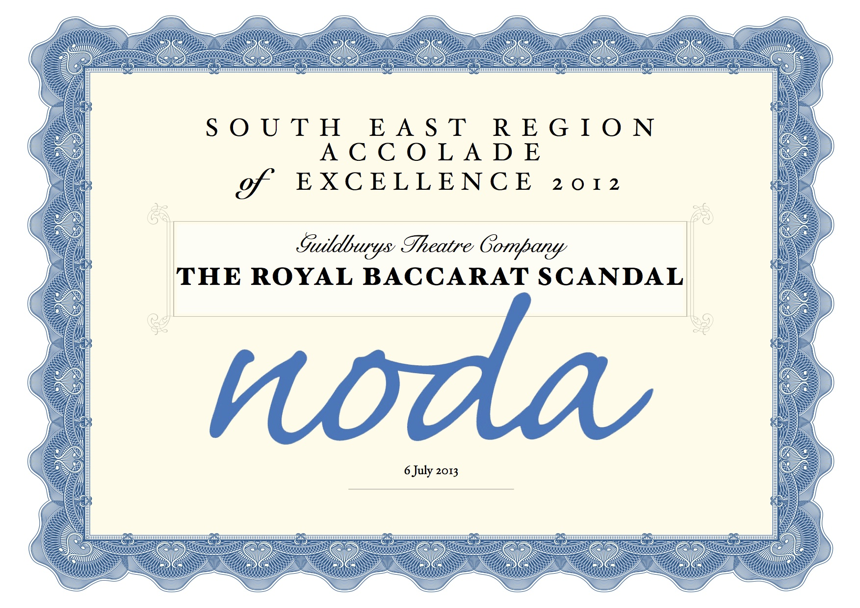 Guildburys win award for the royal baccarat scandal surrey published 1betcityfo Choice Image