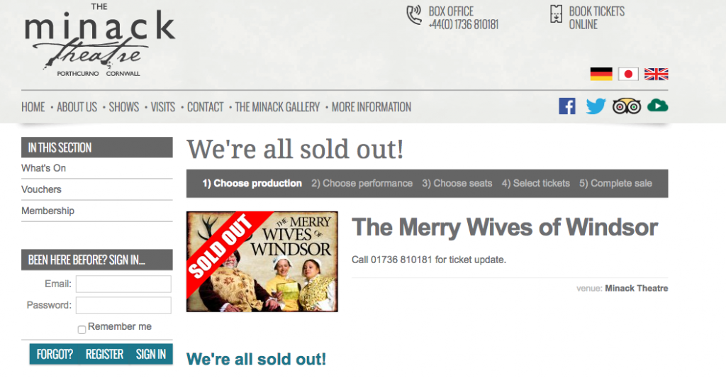MWoW sold out